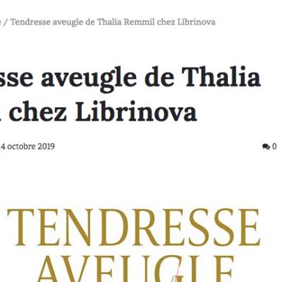 """Tendresse Aveugle dans le blog Notre-Siècle : """"Que puis-je dire de ce livre tellement il est complet ?"""""""